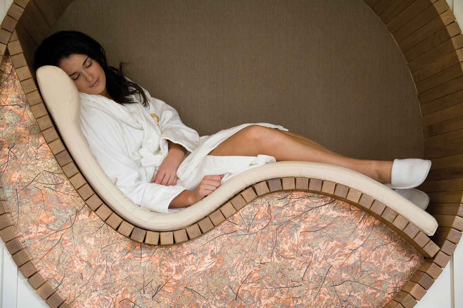 ying-yang beds at Monart Destination Spa; Blog
