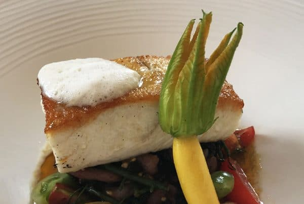 Halibut Dish fresh produce wexford ireland